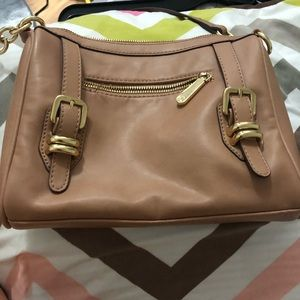 Charming Charlie's brown bag